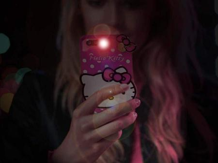 For Lava Pixel V2 Back Cover Cute Hello Kitty Soft Silicon For Lava Pixel V2