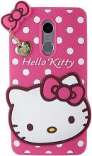 Qzey 3D Cute Hello Kitty Soft Back Cover For Xiaomi Redmi Note 3 - pink