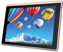 iBall Slide Elan 4G2+ Tablet (10.1 inch, 16GB, Wi-Fi + 4G LTE + Voice Calling), Gold-Cobalt Brown