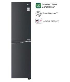 LG 679 Ltr 3 Star M247UGLB.ALBQEBN Side-By-Side Refrigerator - Black