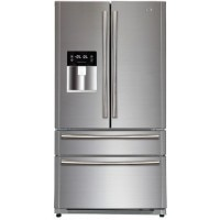Haier 629 Ltr HRF708FF/SS Side By Side Refrigerator Stainless Steel