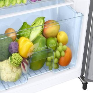 Samsung 192 L Direct Cool Single Door 4 Star Refrigerator(Elegant Inox, RR20N172YS8-HL/RR20N272YS8-NL)