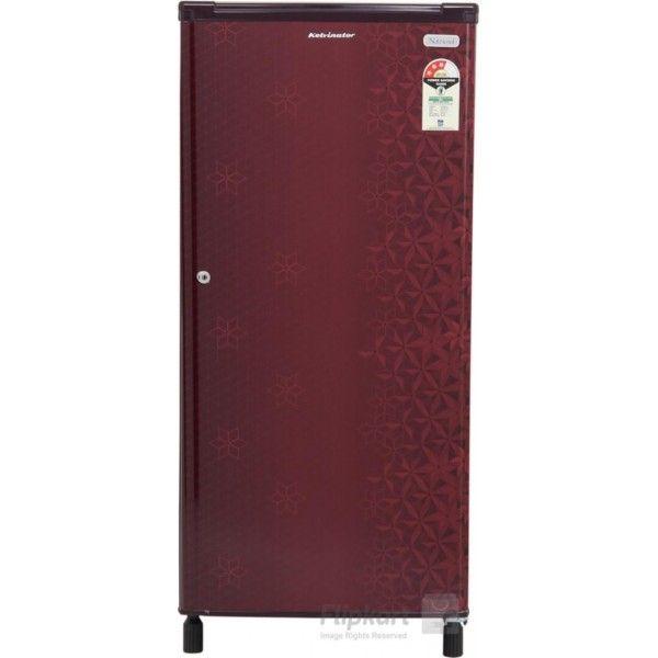Kelvinator Kw203efyr 190 L Single Door Refrigerator Geometry Red
