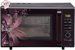 Lg Mc2886brum 28l Convection Microwave Oven Maroon Price