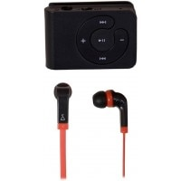 HUMX Zing Black MP3 Player With SKYSONIC N65 Earphone