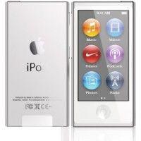 Apple iPod Nano A1446 7th Generation 2015 Edition 16GB Silver