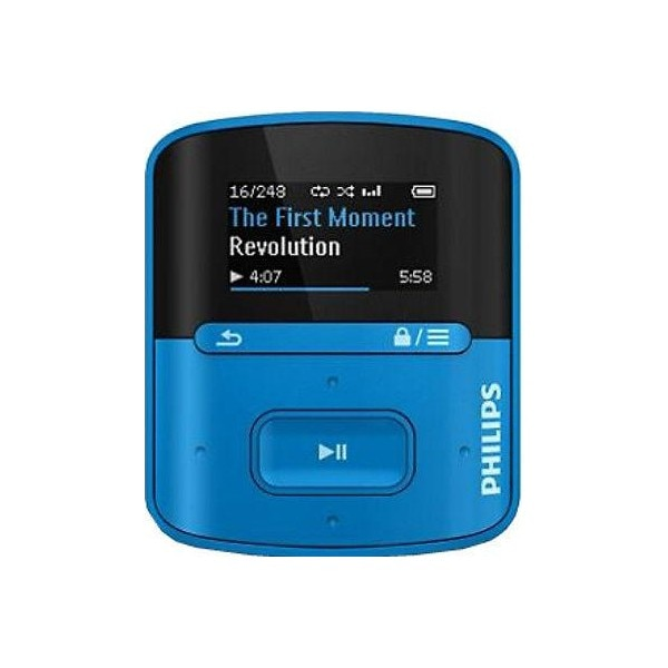 philips gogear raga 4gb mp3 player blue price in india with offers rh pricedekho com Philips GoGear 2GB Manual Philips GoGear User Manual