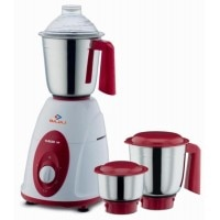Bajaj Classic 750 W Mixer Grinder (White, Red, 3 Jars)