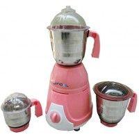 De Pearl Jindal Pollo Mixer Grinder Pink
