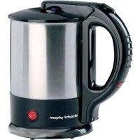 Morphy Richards Tea Maker 1.5 Electric Kettle (Steel Black)