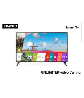 Bravieo KLV-55H7500B QLED 140 cm ( 55 ) Smart Ultra HD (4K) LED Television With 1+1 Year Extended Warranty