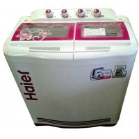 Haier XPB76-113S 7.6 Kg. Semi Automatic Washing Machine Burgundy