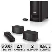 Bose CineMate GS Series II Digital Home Theater Speaker System - 2.1