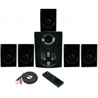 Vsure Vht-5010 5.1 Channel Speakers Black