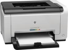 HP - LaserJet CP1025 Single Function Laser Printer (White)