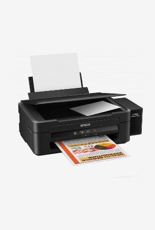 Epson L220 Color Ink Tank System Printer (Black)