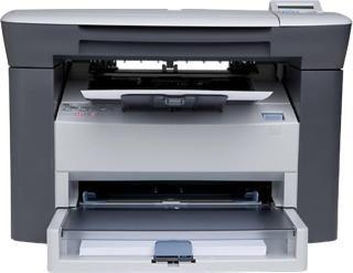 HP LaserJet M1005 MFP Multi-function Monochrome Printer(White, Black, Toner Cartridge)