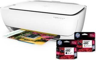 HP 3636 Multi-function Wireless Color Printer(White)