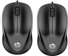 HP 1000 Wired Optical Mouse (USB 3.0, USB 2.0, Black Wired Optical Mouse(USB 2.0, USB 3.0, Black)