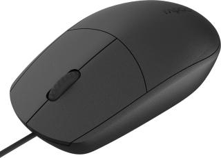 Rapoo N100 Wired Optical Mouse(USB 2.0, USB 3.0, Black)