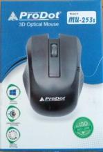 Prodot mu-253s ps2 PS2 3D-OPTICAL MOUSE Gaming Mouse (Black)