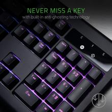 Razer BlackWidow Chroma V2 RGB Mechanical with Yellow Switches Gaming Keyboard (Black)