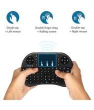 JOKIN Mini Wireless Keyboard with Touch-pad Black Wireless Desktop Keyboard Windows XP