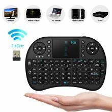 DAHUF MINI KEYBOARD Black Wireless Keyboard Mouse Combo