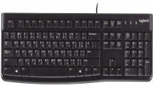 Logitech K120 DEVNAGRI (HINDI+ENGLISH) Wired USB Desktop Keyboard(Black)