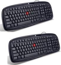 iBall Winner Wired USB Laptop Keyboard Wired USB Laptop Keyboard(Black)