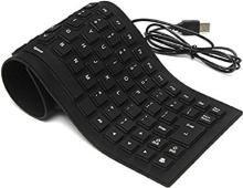 JOFIX Keyboard Wired USB Multi-device Keyboard(Black)