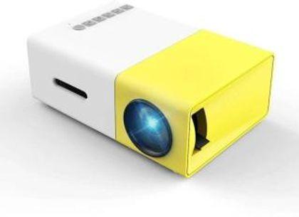 MAXCO LED YG-300 Multicolor Portable Projector(Yellow)