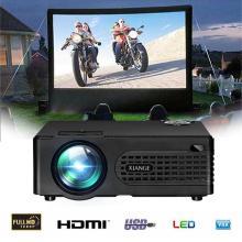 7000 Lumens LED Projector HD 1920*1080P Multimedia Home Cinema Theater Bluetooth