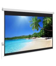 Elcor 6ft x 8ft Motorized Projector Screens with Remote