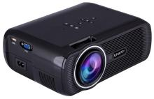Uhappy Mini Portable Multimedia HD LED LCD Projector 1080P 3D Home Cinema Theater PC Laptop VGA USB AV HDMI SD