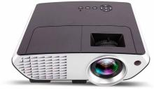 Bushwick Watching TV On A Home Theater 3D Full HD Portable Projector(Black)