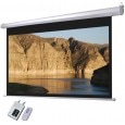 Sunlite Motorised With Remote Imported Matte White Projector Screen - (7 X 5 Feet)