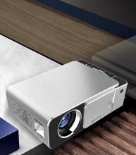 BEESCLOVER Portable Mini LED Cinema Video Digital HD Home Theater Projector Beamer Projector EU Plug