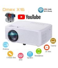 Omex YOUTUBE VERSION 3D LED Projector 1920x1080 Pixels (HD)