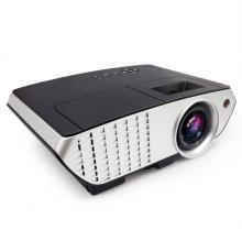 PLAY 3000 lumens Android WiFi LED Projector Full HD Data Show TV Video Games Home Cinema Theater Video Projector HD 1280x1080P Corded Portable Projector Projector(Black/Silver)