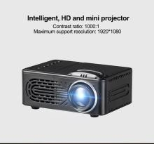 600 Lumens HD 1080P LED Multimedia Projector Home Theater Cinema VGA USB SD