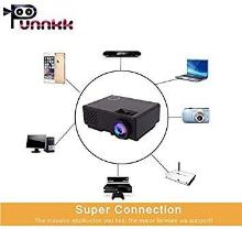 ooze Punnkk P6 Full HD LED Home Theater Projector (White)
