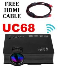Smart Products UNIC UC68 WIFI/HDMI LED Projector 1920x1080 Pixels (HD)