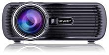 Uhappy Mini Portable Multimedia HD LED LCD Projector 1080P 3D Home Cinema Theater PC Laptop VGA USB AV HDMI SD