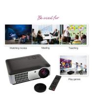 SAMYU Bright 3500 Lumens RD806 1080p Support LCD Projector 1920x1080 Pixels (HD)