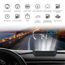 M10 Excelvan 3.5 inch Car HUD Projector Head-Up Display Speeding Warning Fuel