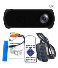YG320 HD 1080P Home Theater USB HDMI AV VGA SD Mini Portable LED Projector