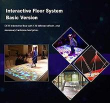 svs laser Interactive Floor Projector Software, USB dongle and IR Camera