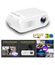 YG320 Mini Home Theater Cinema TV Portable LED Projector 1080P HDMI/USB/SD/AV