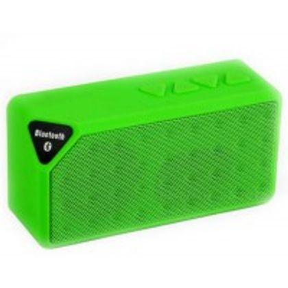 Adcom MiniX3 Wireless Speaker Green Front View